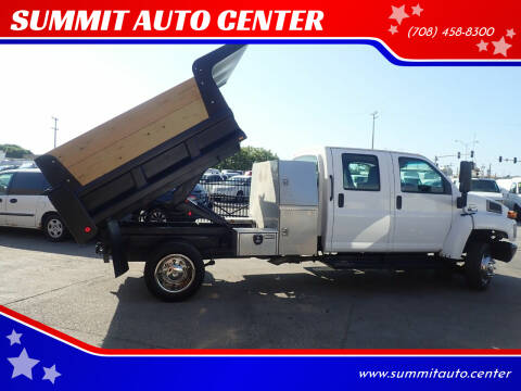 2008 Chevrolet C5500 for sale at SUMMIT AUTO CENTER in Summit IL