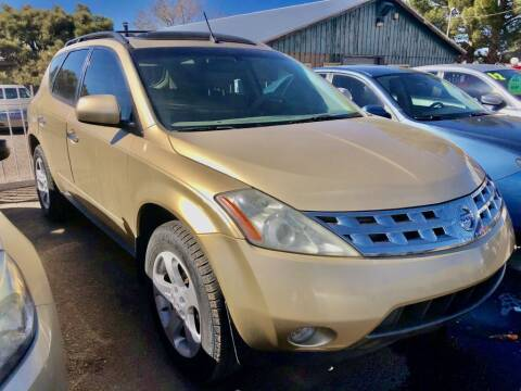 2004 Nissan Murano for sale at Top Gun Auto Sales, LLC in Albuquerque NM