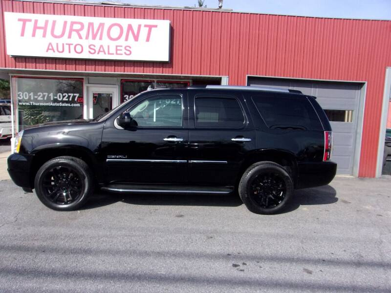 2013 GMC Yukon for sale at THURMONT AUTO SALES in Thurmont MD