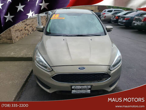 2016 Ford Focus for sale at MAUS MOTORS in Hazel Crest IL