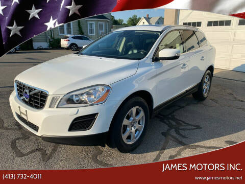 2011 Volvo XC60 for sale at James Motors Inc. in East Longmeadow MA