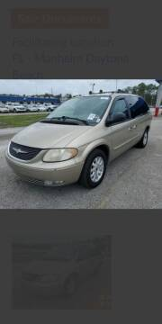 2003 Chrysler Town and Country for sale at Kidron Kars INC in Orrville OH