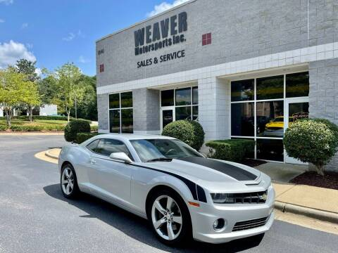 2010 Chevrolet Camaro for sale at Weaver Motorsports Inc in Cary NC