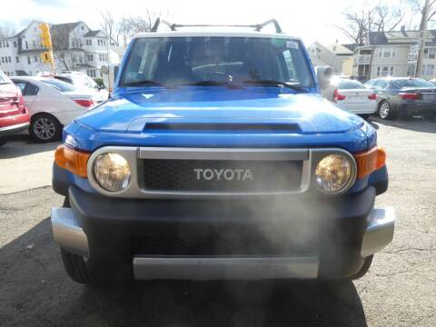 2007 Toyota FJ Cruiser for sale at Wheels and Deals in Springfield MA