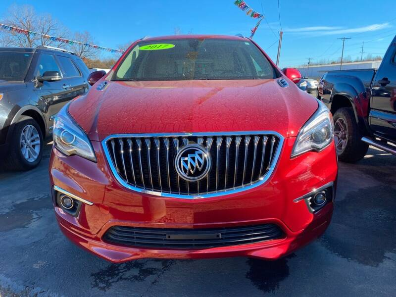 2017 Buick Envision for sale at BEST AUTO SALES in Russellville AR