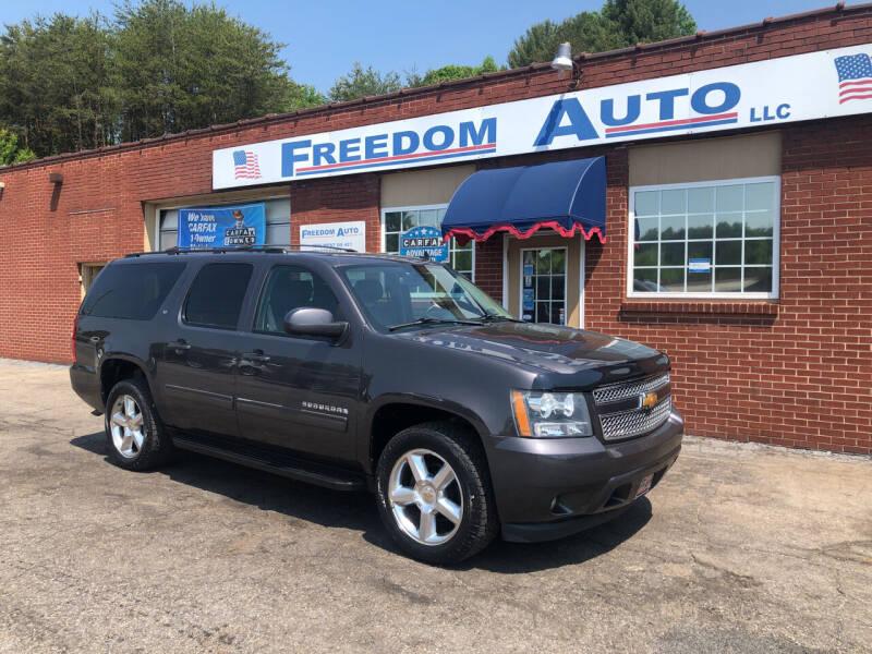 2011 Chevrolet Suburban for sale at FREEDOM AUTO LLC in Wilkesboro NC