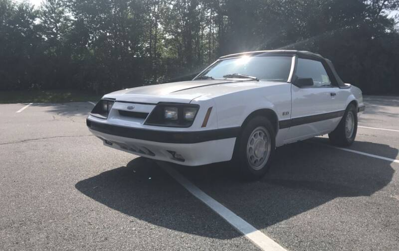 1986 Ford Mustang for sale at Clair Classics in Westford MA