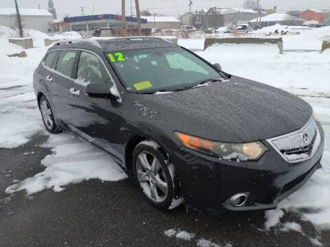 2012 Acura TSX Sport Wagon for sale at Merrimack Motors in Lawrence MA