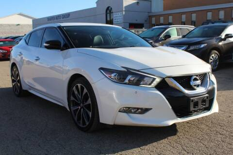 2016 Nissan Maxima for sale at SHAFER AUTO GROUP in Columbus OH