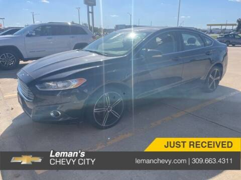 2014 Ford Fusion for sale at Leman's Chevy City in Bloomington IL