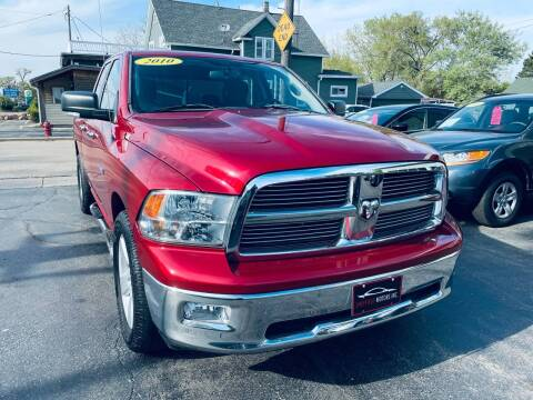 2010 Dodge Ram Pickup 1500 for sale at SHEFFIELD MOTORS INC in Kenosha WI