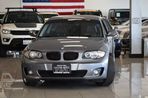 2012 BMW 1 Series for sale at Legend Auto in Sacramento CA
