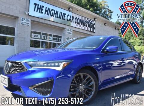 2019 Acura ILX for sale at The Highline Car Connection in Waterbury CT