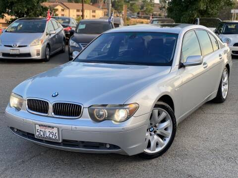 2003 BMW 7 Series for sale at Gold Coast Motors in Lemon Grove CA
