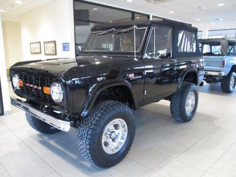 1977 Ford Bronco for sale at MC FARLAND FORD in Exeter NH
