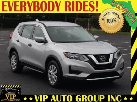 2017 Nissan Rogue for sale at VIP Auto Group in Clearwater FL