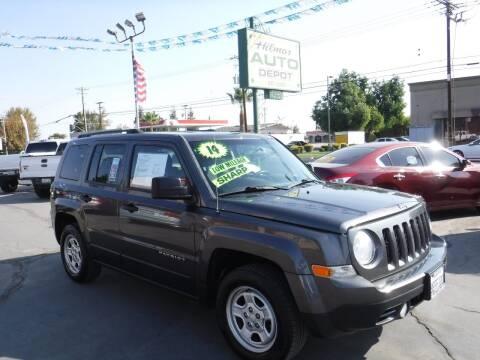 2014 Jeep Patriot for sale at HILMAR AUTO DEPOT INC. in Hilmar CA