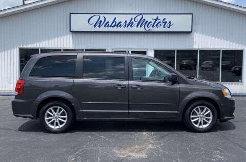 2015 Dodge Grand Caravan for sale at Wabash Motors in Terre Haute IN