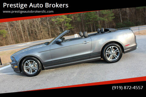 2014 Ford Mustang for sale at Prestige Auto Brokers in Raleigh NC