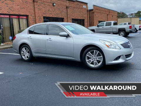 2012 Infiniti G37 Sedan for sale at Selective Imports in Woodstock GA