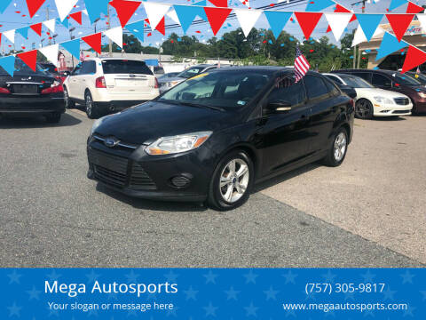 2013 Ford Focus for sale at Mega Autosports in Chesapeake VA