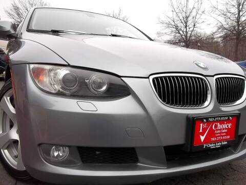 2010 BMW 3 Series for sale at 1st Choice Auto Sales in Fairfax VA
