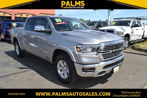 2021 RAM Ram Pickup 1500 for sale at Palms Auto Sales in Citrus Heights CA