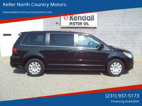 2012 Volkswagen Routan for sale at Keller North Country Motors in Howard City MI