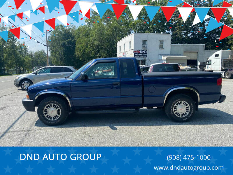 2000 GMC Sonoma for sale at DND AUTO GROUP in Belvidere NJ
