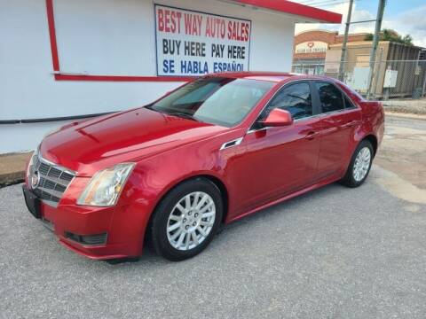 2011 Cadillac CTS for sale at Best Way Auto Sales II in Houston TX