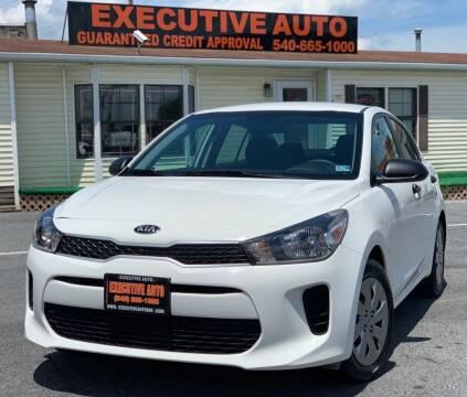 2018 Kia Rio for sale at Executive Auto in Winchester VA