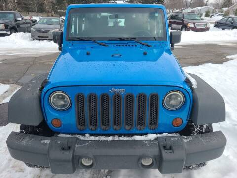 2012 Jeep Wrangler for sale at All State Auto Sales, INC in Kentwood MI