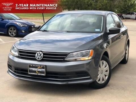 2016 Volkswagen Jetta for sale at European Motors Inc in Plano TX