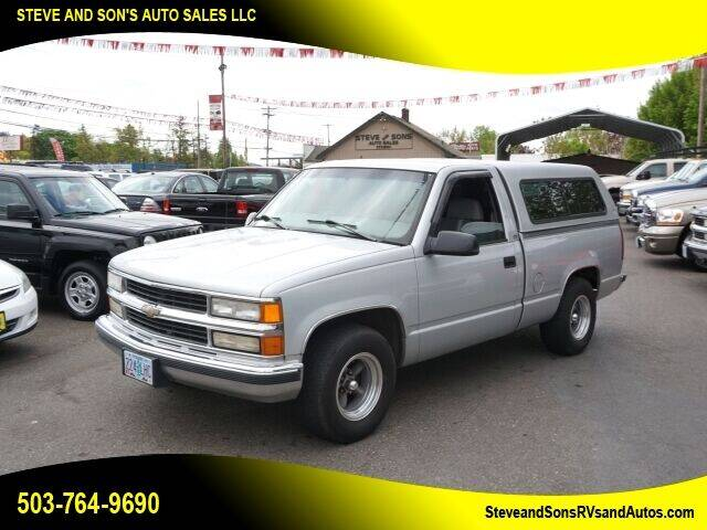 1997 Chevrolet C/K 1500 Series for sale at Steve & Sons Auto Sales in Happy Valley OR