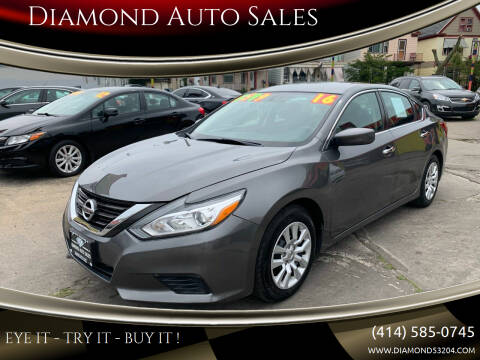 2016 Nissan Altima for sale at Diamond Auto Sales in Milwaukee WI