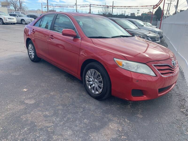 2011 Toyota Camry for sale at Robert B Gibson Auto Sales INC in Albuquerque NM