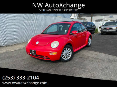 2005 Volkswagen New Beetle for sale at NW AutoXchange in Auburn WA