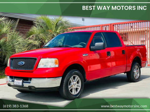 2005 Ford F-150 for sale at BEST WAY MOTORS INC in San Diego CA