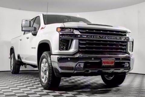 2021 Chevrolet Silverado 3500HD for sale at Washington Auto Credit in Puyallup WA
