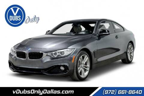 2014 BMW 4 Series for sale at VDUBS ONLY in Dallas TX