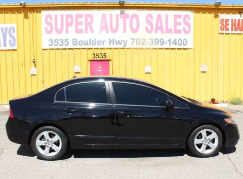 2007 Honda Civic for sale at Super Auto Sales in Las Vegas NV