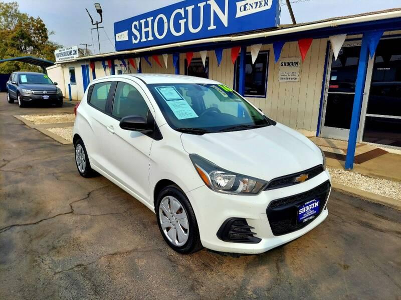 2016 Chevrolet Spark for sale at Shogun Auto Center in Hanford CA