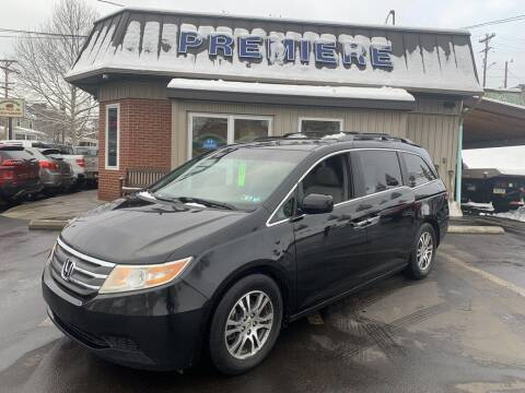 2012 Honda Odyssey for sale at Premiere Auto Sales in Washington PA