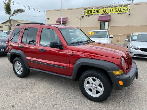 2007 Jeep Liberty for sale at HEILAND AUTO SALES in Oceano CA