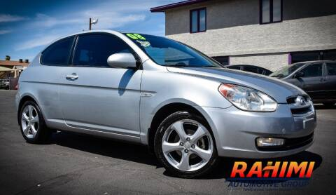 2008 Hyundai Accent for sale at Rahimi Automotive Group in Yuma AZ