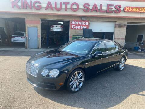 2016 Bentley Flying Spur for sale at KING AUTO SALES  II in Detroit MI