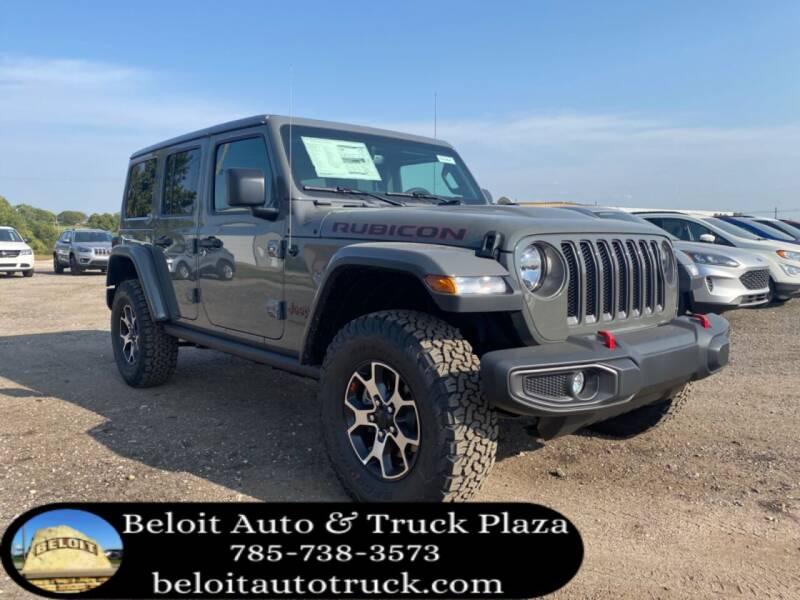 2021 Jeep Wrangler Unlimited for sale at BELOIT AUTO & TRUCK PLAZA INC in Beloit KS