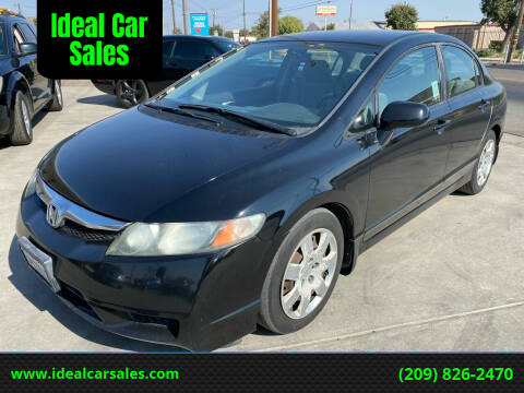 2011 Honda Civic for sale at Ideal Car Sales in Los Banos CA