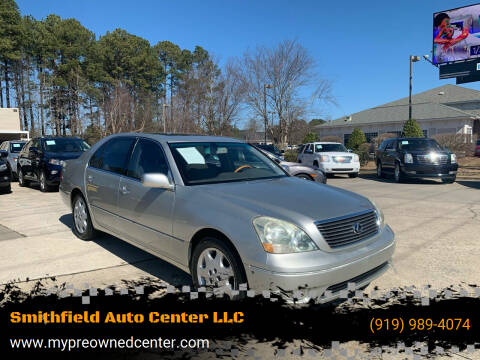 2003 Lexus LS 430 for sale at Smithfield Auto Center LLC in Smithfield NC