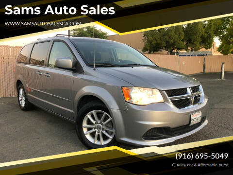 2014 Dodge Grand Caravan for sale at Sams Auto Sales in North Highlands CA